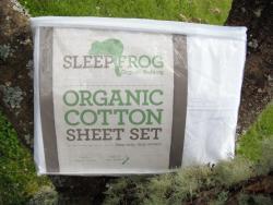 Sleep Frog Organic Cotton Sheets (Made in NZ)